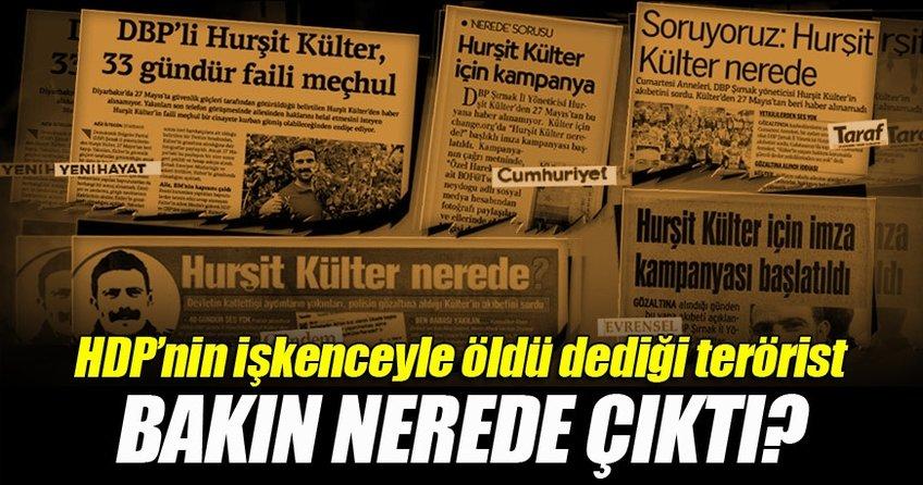 HDP'nin işkenceyle öldü dediği adam ortaya çıktı!
