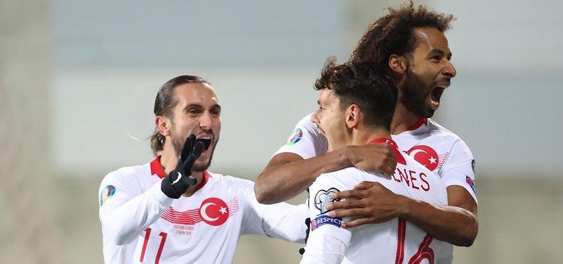 TURKEY BEATS ANDORRA 2-0 IN LAST MATCH OF EURO 2020 QUALIFIERS