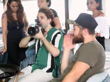 Gökhan Tepe - Backstage ( Cosmopolitan Ağustos 2018)