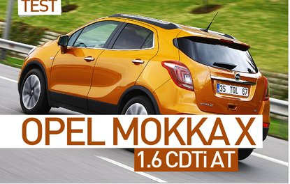 Test · Opel Mokka X 1.6 CDTi AT