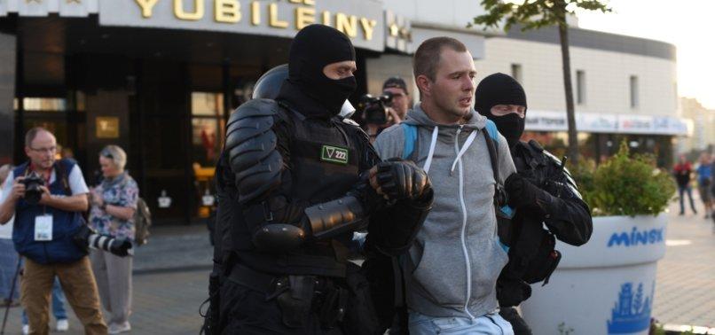 BELARUS: 1 DEAD AFTER NIGHT OF VIOLENT PROTESTS