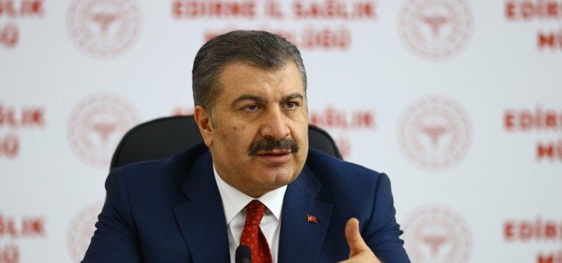 LOCKDOWN IS BEATING BACK VIRUS: TURKISH HEALTH CHIEF