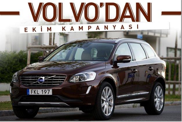 Volvo'dan Ekim kampanyası