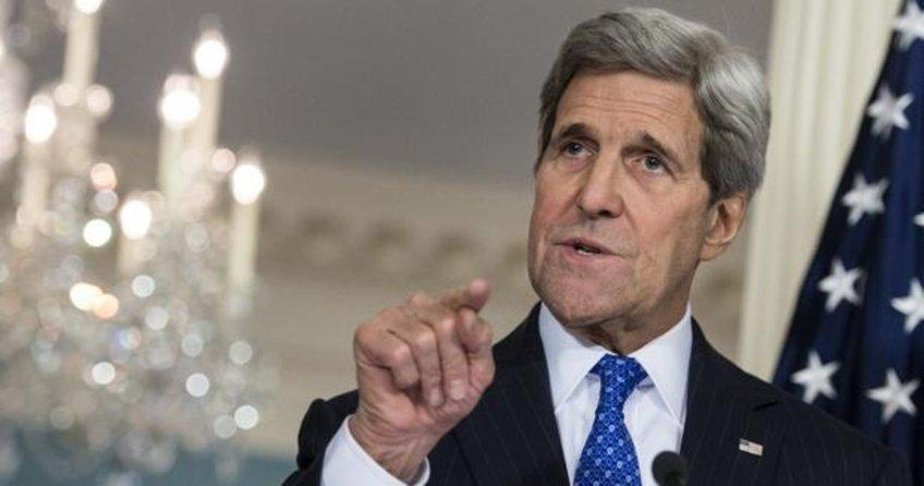 ABD Dışişleri Bakanı John Kerry Türkiye'ye geliyor