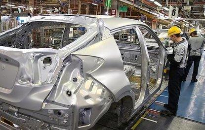 Türkiyede otomobil üretimi 10 yılın zirvesine çıktı