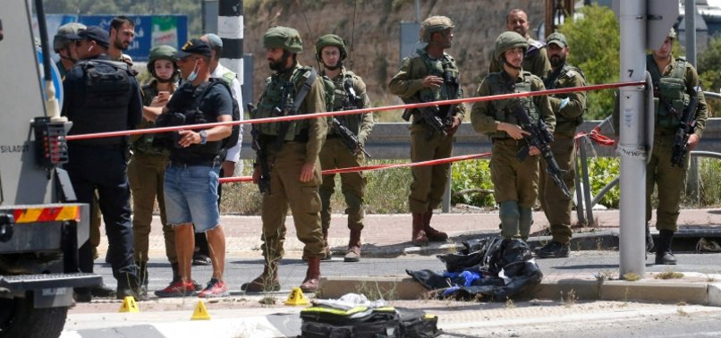 ISRAELI SOLDIERS MARTYR PALESTINIAN WOMAN IN WEST BANK