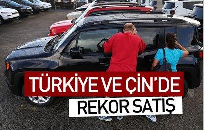 Türkiye ve Çinde rekor satış