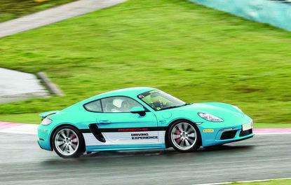 Sürüş izlenimi · Porsche 718, Panamera