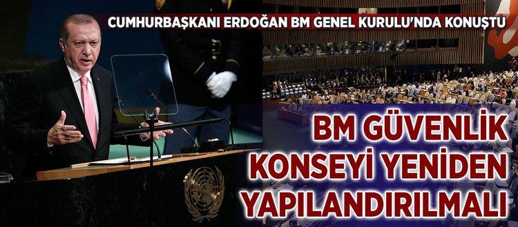 Cumhurbaşkanı Erdoğan, tüm dünyaya seslendi: Verdiğiniz sözleri tutun