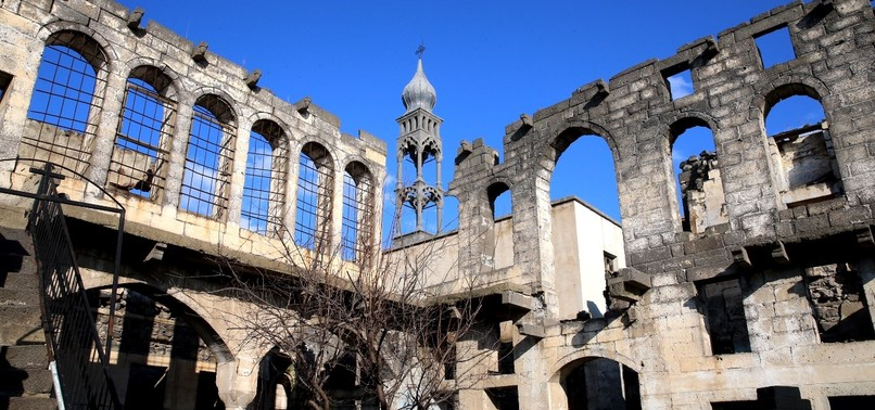 GOVT-SPONSORED RESTORATION OF DIYARBAKIR CHURCHES BEGINS