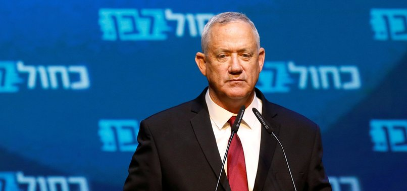 ISRAELS GANTZ TELLS ARMY TO PREP FOR ANNEXING WEST BANK