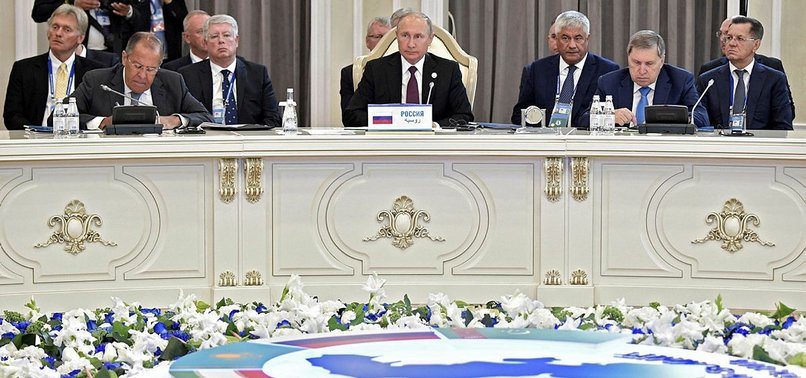 RUSSIA, IRAN, OTHERS SIGN DEAL ON CASPIAN SEAS LEGAL STATUS