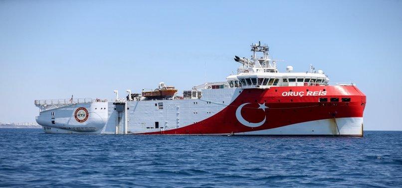 TURKEY TO CONTINUE EXPLORATION IN EAST MED UNTIL NOV. 29