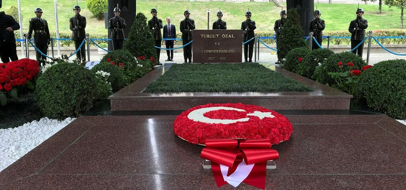 TURKEY MARKS DEATH ANNIVERSARY OF 8TH PRESIDENT
