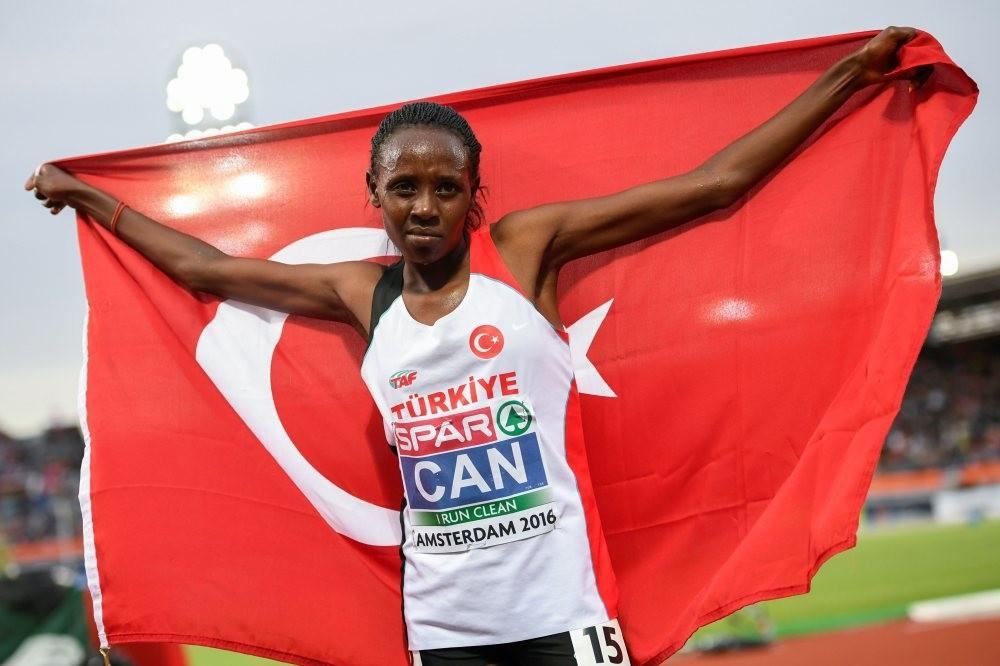 Yasemin Can won Saturdayu2019s 5000m to continue Turkeyu2019s astonishing European success.
