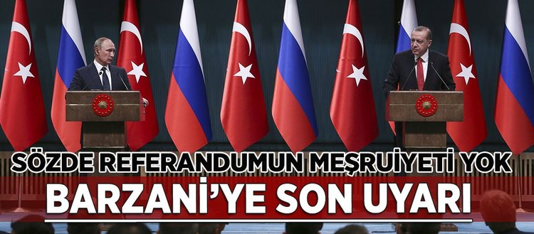 Erdoğan, ekonomik ve bölgesel sorunları Putin ile masaya yatırdı