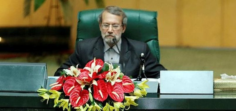 LARIJANI RE-ELECTED IRAN PARLIAMENT SPEAKER