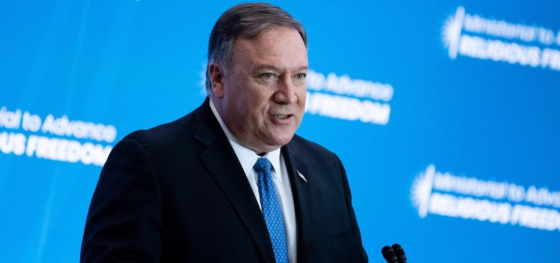 POMPEO CALLS CHINAS TREATMENT OF UIGHURS STAIN OF THE CENTURY