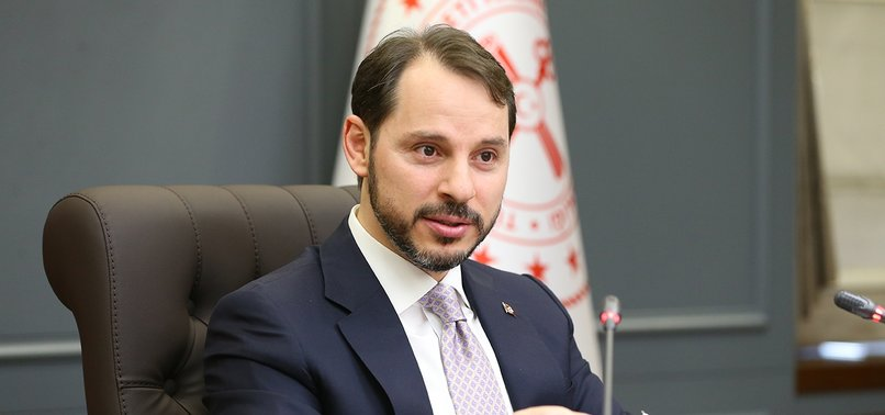 TURKEYS CDS TUMBLES TO 20-MONTH LOW, MINISTER ALBAYRAK SAYS