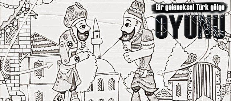 Bir geleneksel Türk gölge oyunu
