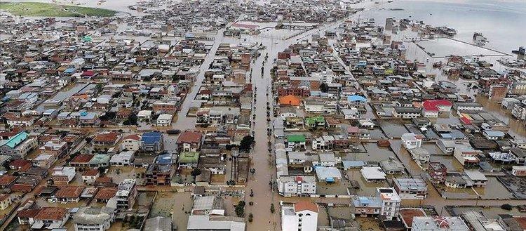 İran'daki sel felaketinde 46 kişi hayatını kaybetti