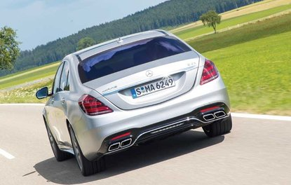 TEST · Mercedes-AMG S 63 4MATIC+