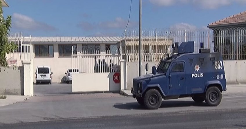 Başkentte ki polis merkezine silahlı saldırı