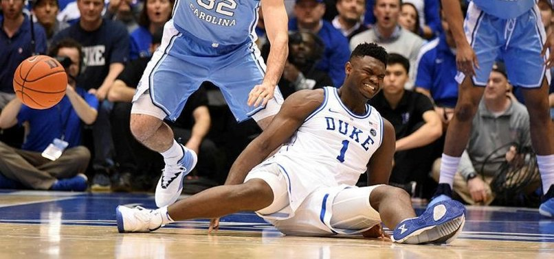 bec6acc76c5c83 Nike shoe blowout blamed for college basketball stars injury - anews