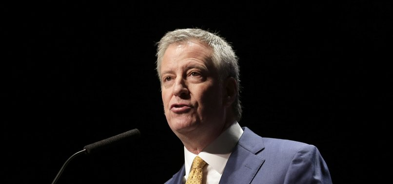 NYC MAYOR DE BLASIO SEEKING DEMOCRATIC NOMINATION FOR PRESIDENT