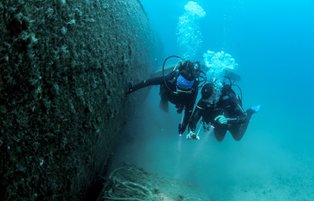 World's biggest submerged plane in holiday destination Kuşadası awaits divers