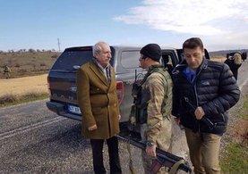 AK Parti'li vekili asker hemen korumaya aldı
