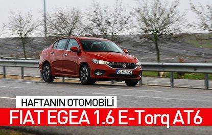 Haftanın otomobili: Fiat Egea 1.6 E-Torq AT6