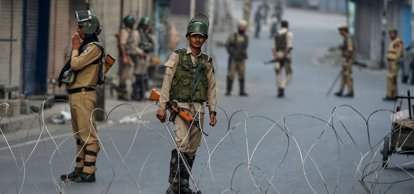RESTRICTIONS REIMPOSED IN PARTS OF KASHMIR