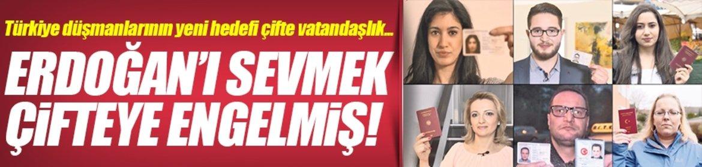 Erdoğan'ı sevmek çifteye engelmiş!
