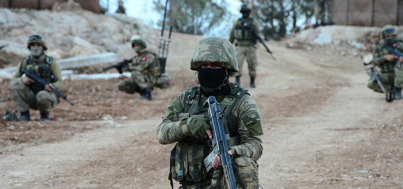 4 PKK TERRORISTS SURRENDER TO TURKISH SECURITY FORCES