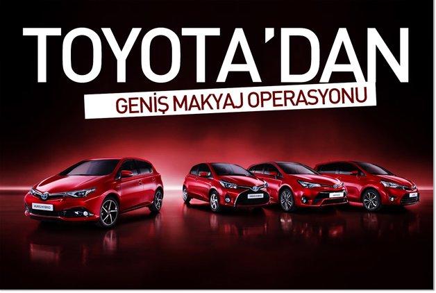 Toyota'dan geniş makyaj operasyonu