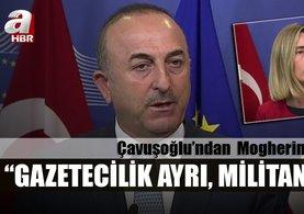 Çavuşoğlu: Gazetecilik ayrı, militanlık ayrı! Loading