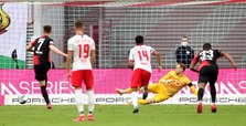 Ten-man Leipzig held to 2-2 home draw by Hertha