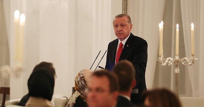 Erdoğan: Binlerce PKK'lı Almanya'da elini kolunu sallaya sallaya dolaşmaktadır