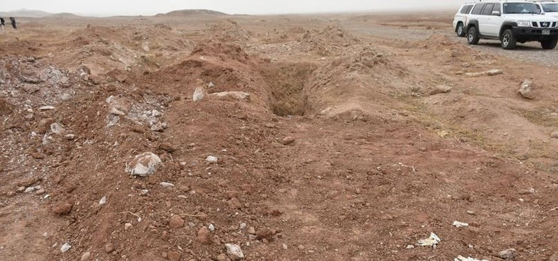 MASS GRAVE OF IRAQIS KILLED BY DAESH/ISIS TERRORISTS UNEARTHED IN KIRKUK