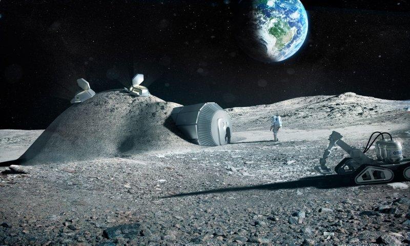 MARS'TA YAŞAMADAN ÖNCE AY