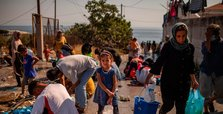 Over 240 migrants at new Greek camp have virus