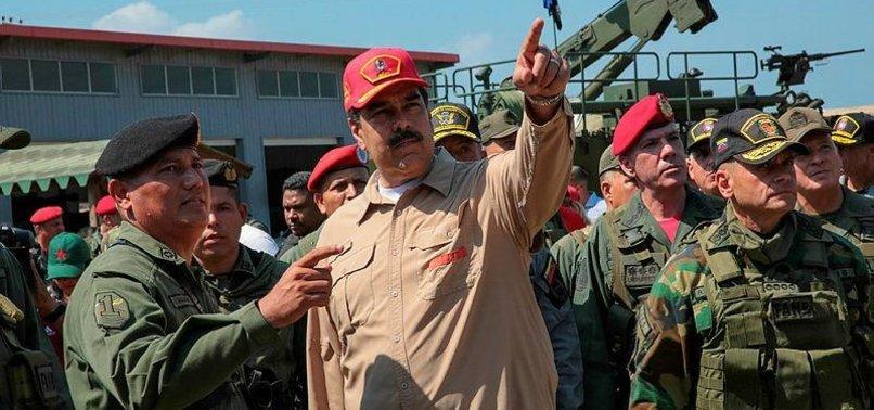 MADURO CALLS ON ARMY TO MAINTAIN UNITY, DISCIPLINE