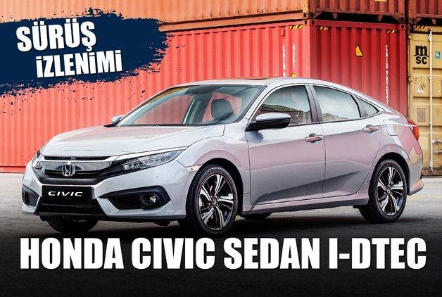 SÜRÜŞ İZLENİMİ · Honda Civic Sedan i-DTEC