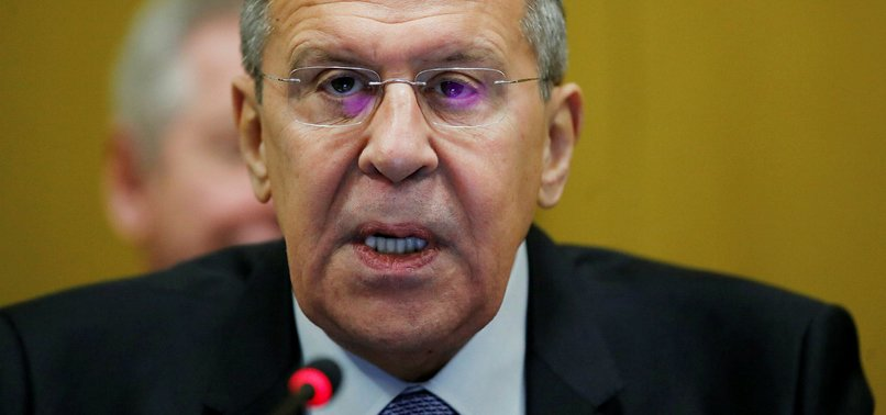 RUSSIAN FM LAVROV SAYS TALKS ON SYRIA SAFE ZONE UNDERWAY