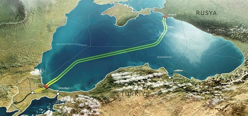 MOSCOW EYES TO CONNECT ITALY TO TURKSTREAM