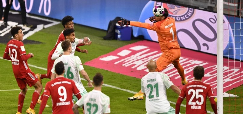 COMAN RESCUES 1-1 DRAW FOR BAYERN AGAINST WERDER