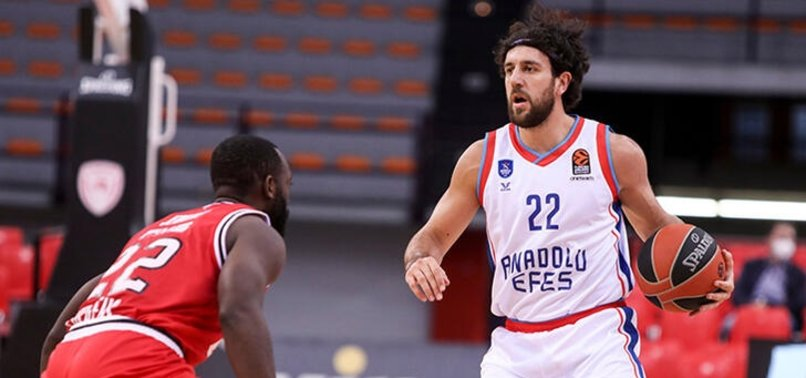 ANADOLU EFES BEAT OLYMPIACOS 84-79 IN EUROLEAGUE