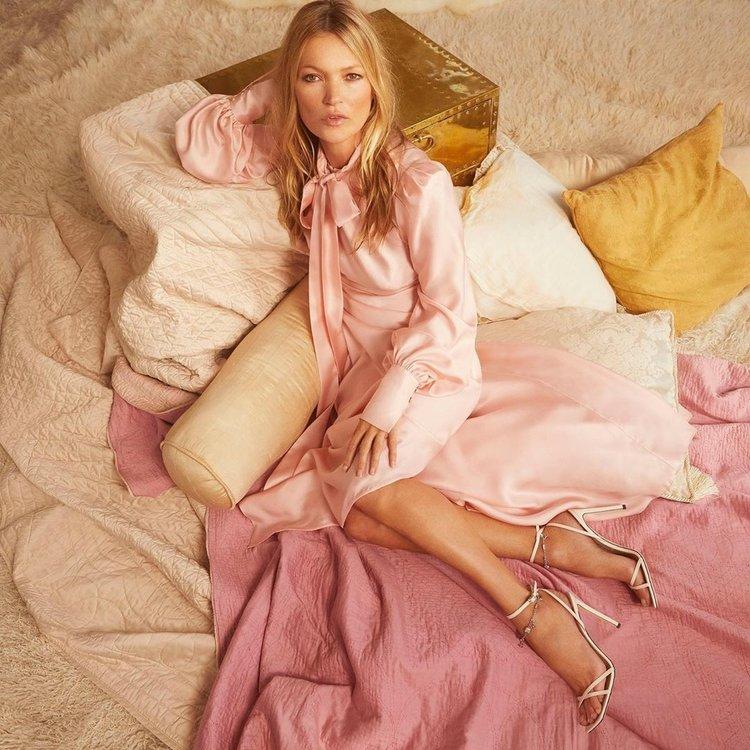 Jimmy Choo'nun yeni ilham perisi: Kate Moss