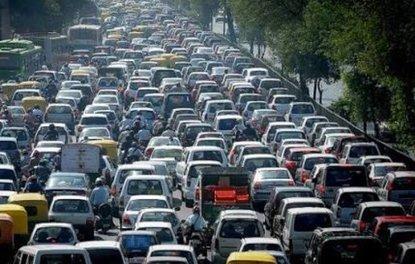 Şehirlerin trafik yoğunlukları! Türkiyeden 4 şehir listede